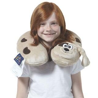 Berkshire Blanket Spotted Puppy Kids' Travel Neck Pillow