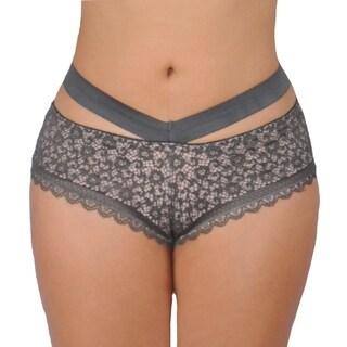 Prestige Biatta Olive Lace Elastic Waistband Hipster (4 options available)