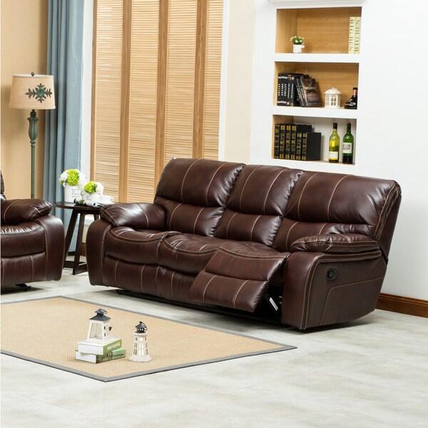 Air O Sofa: Shop Ewa Leather Air Reclining Sofa