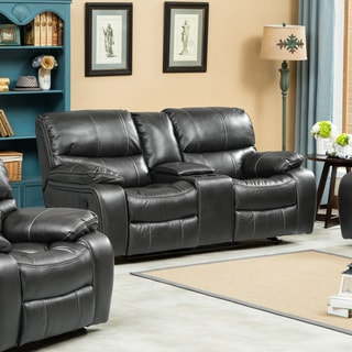 Ewa Leather Air Reclining Loveseat