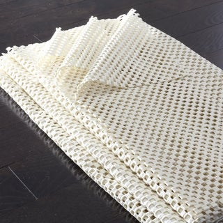 Safavieh Padding White Synthetic Rubber Rug (2' x 14')