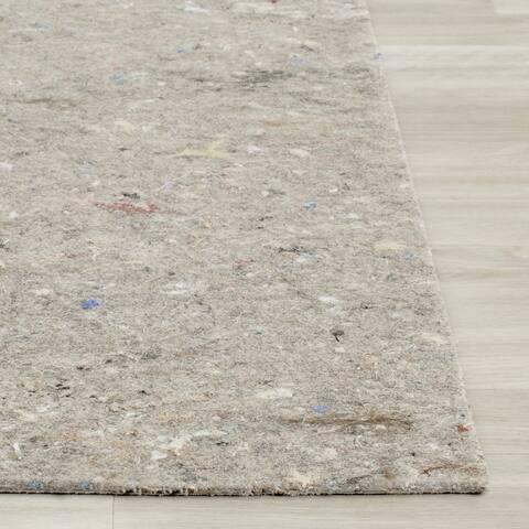 Safavieh Durable Hard Surface and Carpet Non Slip Rug Pad - Grey