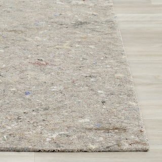Safavieh Durable Hard Surface and Carpet Rug Pad - Grey