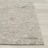 Safavieh Durable Hard Surface and Carpet Rug Pad - Grey