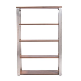 Dillon Walnut 40-inch Shelving Unit