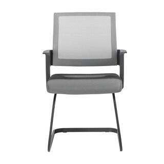 Euro Style Maska Grey Visitor Chair