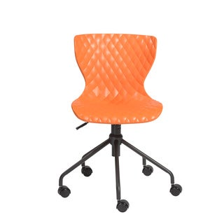 orange office & conference room chairs & seating - shop the best