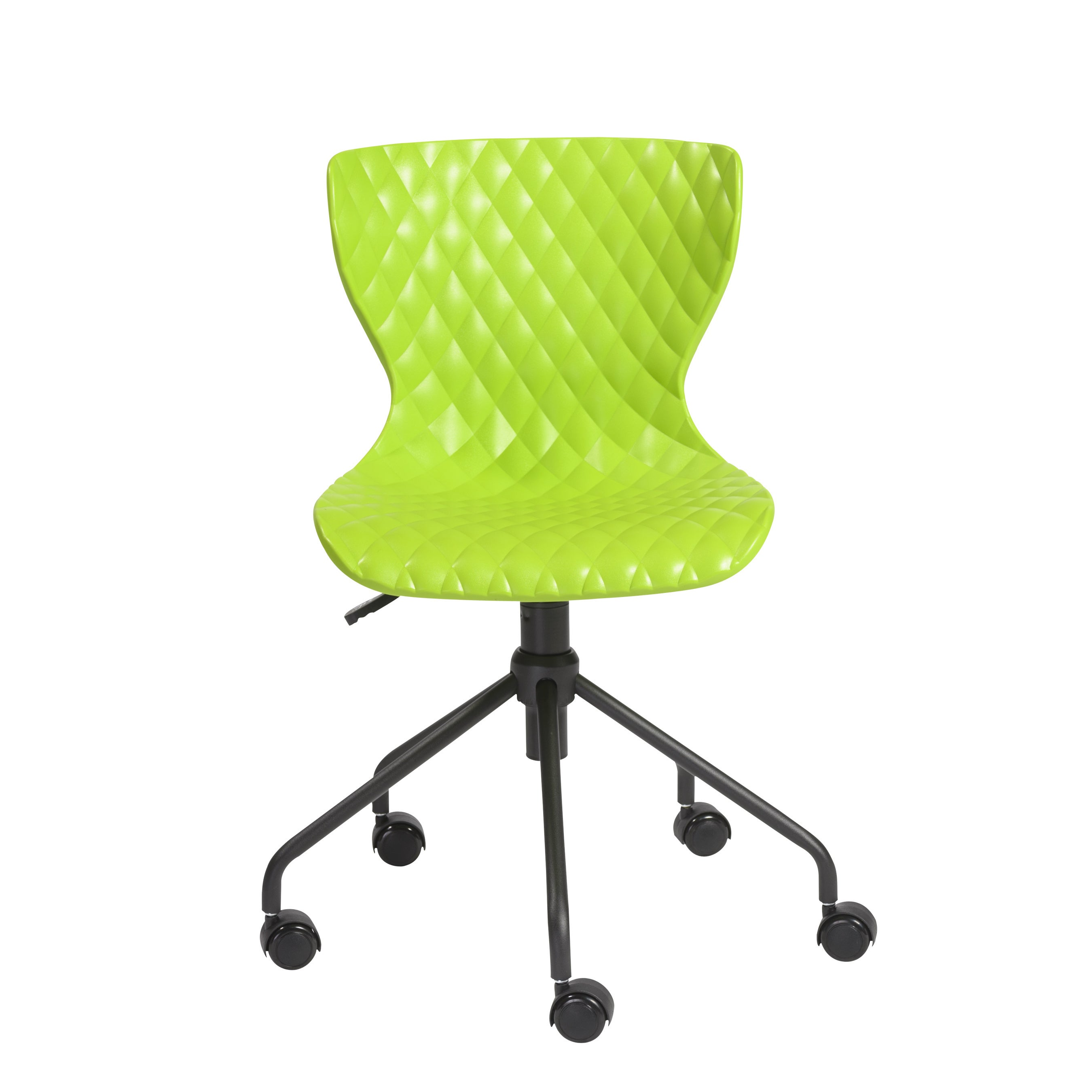 Euro Style Daly Green Office Chair (Green/Black)
