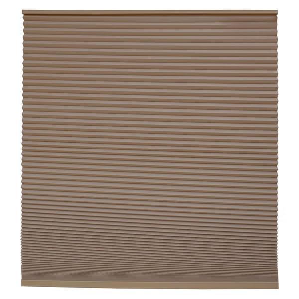 Keystone Fabrics Blackout Cordless Cellular Shade Chestnut 38.25 to 54 inch wide x 72 inch drop