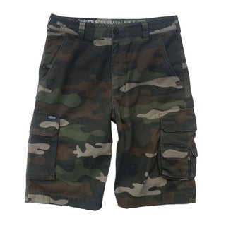 Smith's Workwear Men's Cotton Camo Cargo Shorts