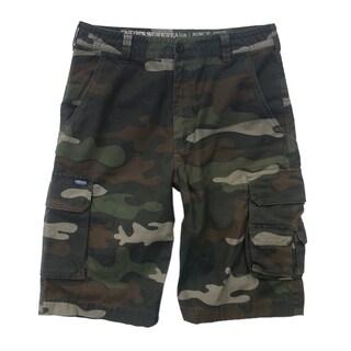 Smith's Workwear Men's Cotton Camo Cargo Shorts