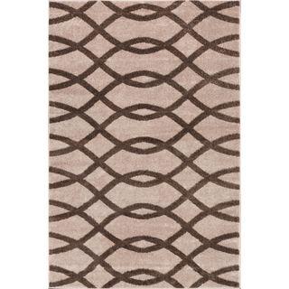 Well Woven Modern Lines Waves Geometric Area Rug (7'10 x 9'10)