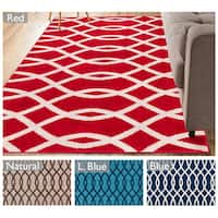 "Well Woven Modern Lines Waves Geometric Area Rug - 3'3"" x 5'"