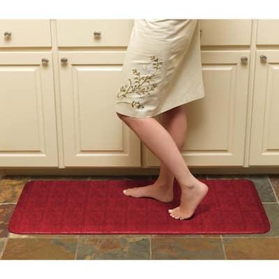 """Designer Comfort Pebble Anti-fatigue GelPro 20 x 48-inch Floor Mat - 1'8"""" x 4' - 1'8"""" x 4'"""