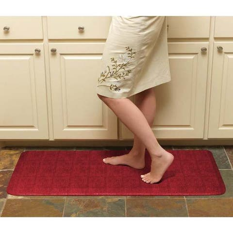 "Designer Comfort Pebble Anti-fatigue GelPro 20 x 48-inch Floor Mat - 1'8"" x 4'"