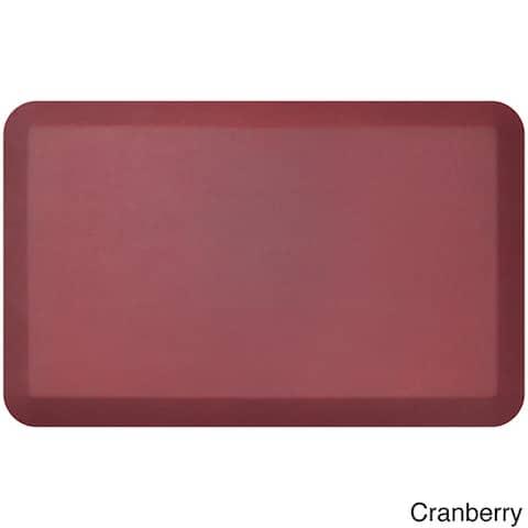 "Designer Comfort Leather Grain Anti-fatigue 20 x 32-inch Floor Mat - 1'8"" x 2'6"""