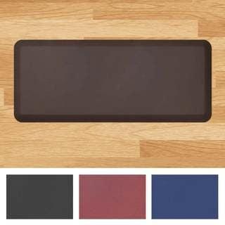 "Designer Comfort Leather-grain Anti-fatigue 20 x 48-inch Floor Mat - 1'8"" x 4'"