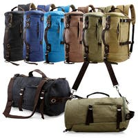 Gearonic Men's Vintage Canvas Backpack