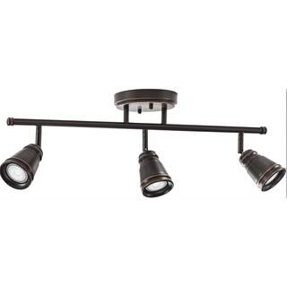 Lithonia Lighting - LED 3 Head Peppermill Fixed Track Kit, 21W, Oil rubbed Bronze https://ak1.ostkcdn.com/images/products/14681648/P21215619.jpg?impolicy=medium