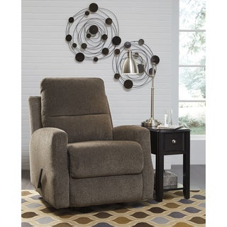 Chenille Contemporary Soft Rocker Recliner