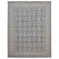 FineRugCollection Handmade Fine Peshawar Wool Oriental Rug