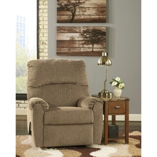 Chenille Wall Hugger Contemporary Recliner