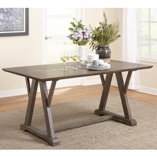 Simple Living Herabrown Dining Table - Grey - N/A