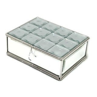 Heim Concept Multi-Faceted Mirrored Jewelry Box
