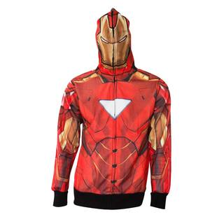 Men's Iron Man Full-zip Costume Hoodie