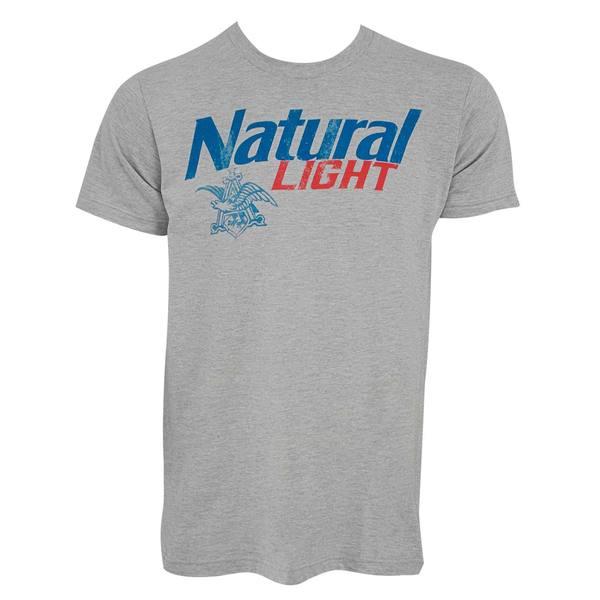 Natural Light Mens New Logo T-shirt