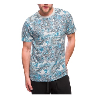 Men's Cotton Paisley T-Shirt