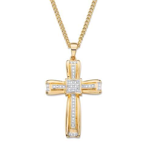 6579361d8516c Buy Round Men's Necklaces Online at Overstock   Our Best Men's ...