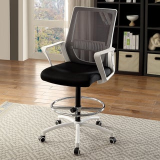 Furniture of America Sali Contemporary Fabric Adjustable Office Chair