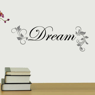 Dream Vinyl Wall Quote Decal (2 options available)