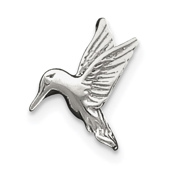 Shop Sterling Silver Hummingbird Charm With 18 Inch Chain By Versil