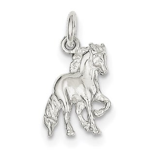 Sterling Silver Horse Charm by Versil with 18 Inch Chain