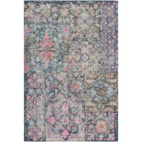 """Hand-Tufted Colnice Wool Area Rug - 5' x 7'6"""""""