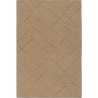 """Handmade Cecan Wool Area Rug - 5' x 7'6"""""""