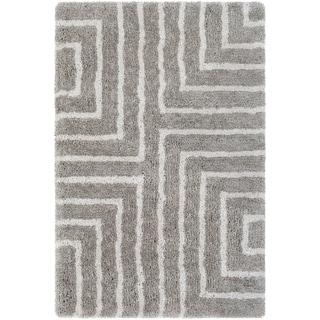 "Hand-Tufted Jayra Polyester Rug (5' x 7'6"")"