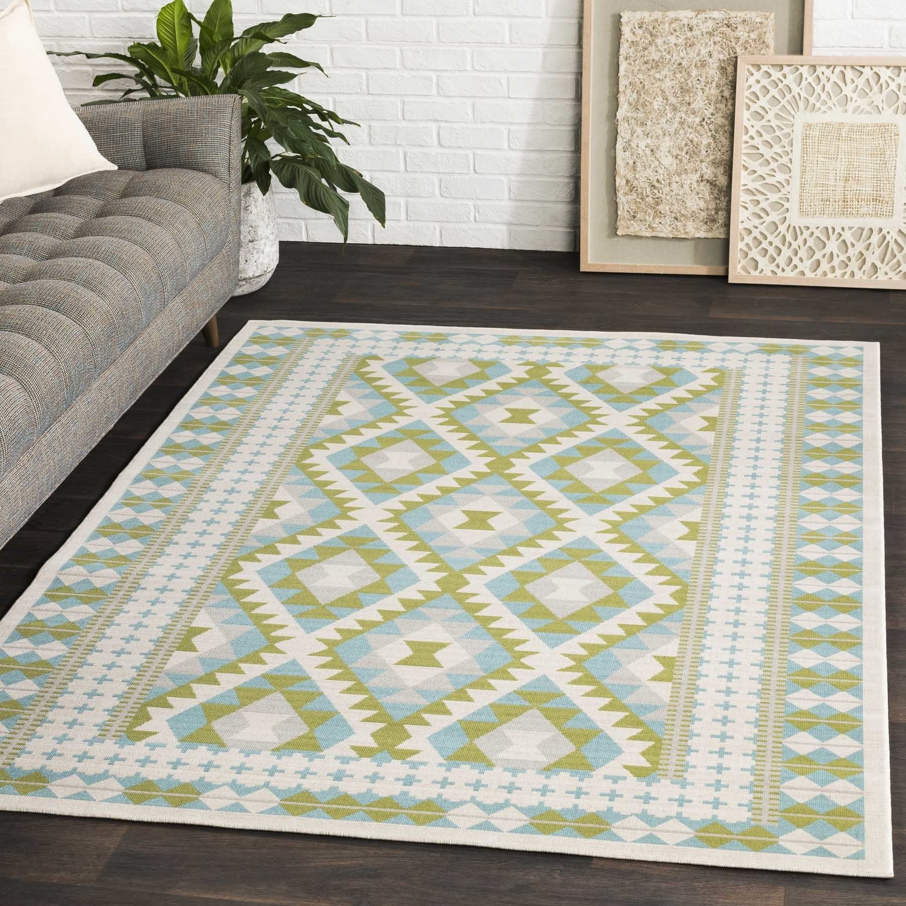 "Ferrecci Machine Woven Channtar Polypropylene Rug (5'3"" x..."