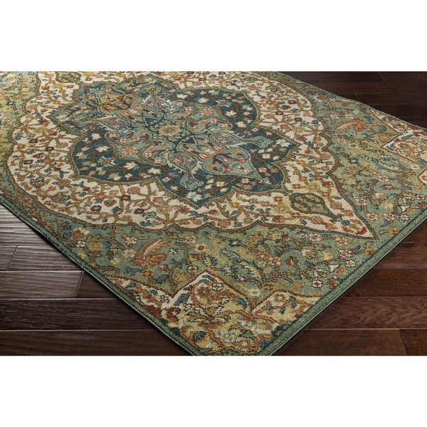 Laurel Creek Sydney Green Area Rug 5 X27