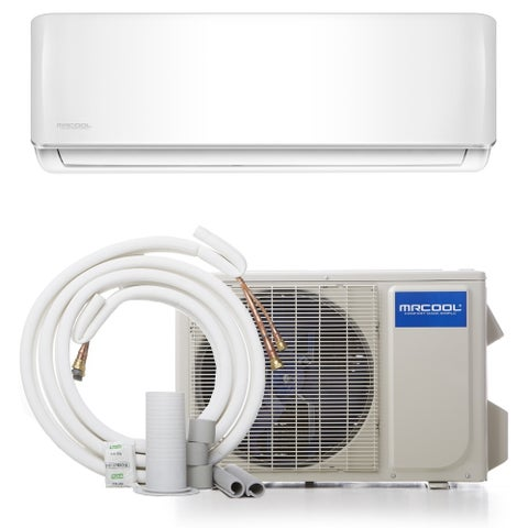 MRCOOL DIY 12,000 BTU 17.5 SEER Ductless Mini-Split Air Conditioner - White