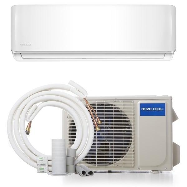 MRCOOL DIY 12,000 BTU 17.5 SEER Ductless Mini-Split Air Conditioner - White