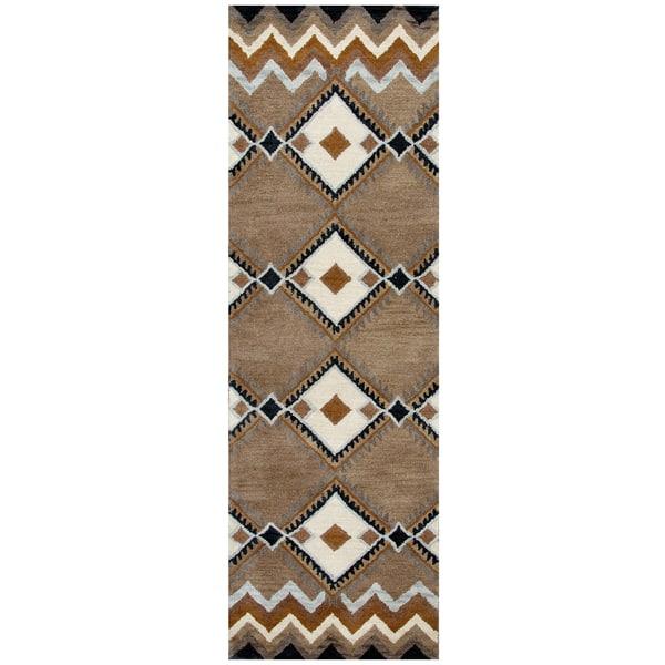Hand Tufted Pueblo Wool Southwest