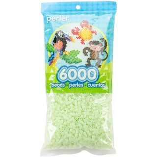 Perler Beads 6,000/Pkg-Glow In The Dark