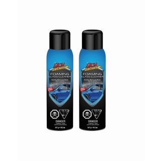 Dry Shine Foaming Glass Cleaner (Set of 2 Cans)
