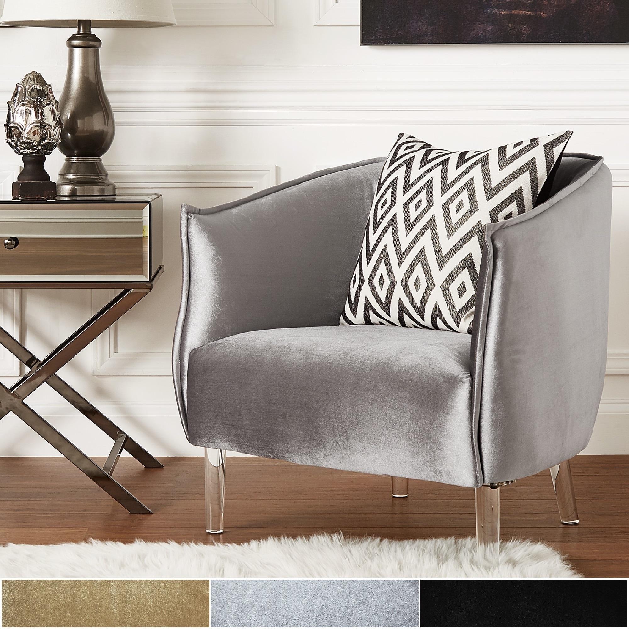 Vianne-Velvet-Curved-Back-Acrylic-Leg-Accent-Chair-