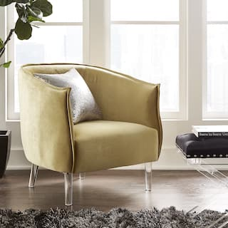 Gold Living Room Chairs For Less Overstock Com