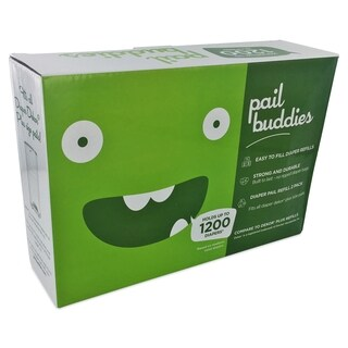 Pail Buddies Diaper Pail Refills Compatible with all Diaper Dekor Plus Diaper Pails (Set of 2)