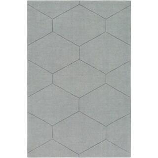 Handmade Hironia Wool Rug-(8' x 10')